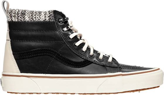 Vans U Sk8 High Mte Varsikengät BLACK/MARSHMALLOW (Sizes: US 4.5)