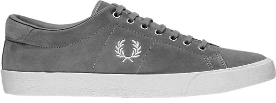 Fred Perry M Underspin Suede Crepe Tennarit FALCON GREY/WHITE (Sizes: 42)