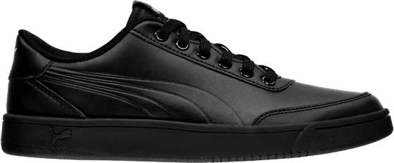 Puma Tennarit Puma U Court Breaker L Mono BLACK (Sizes: UK 7.5)