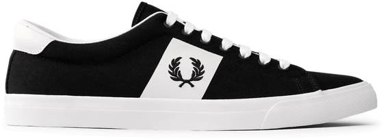 Fred Perry M Underspin Twill Tennarit NAVY/WHITE (Sizes: 41)