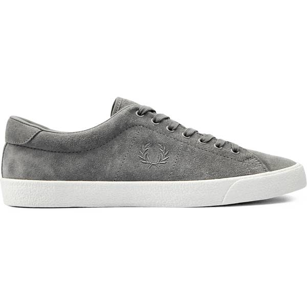 Fred Perry M Underspin Suede Crepe Tennarit FALCON GREY (Sizes: 42)