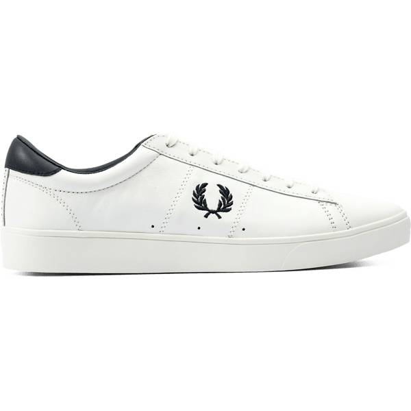 Fred Perry M Spencer Leather Tennarit PORCELAIN/NAVY (Sizes: 41)