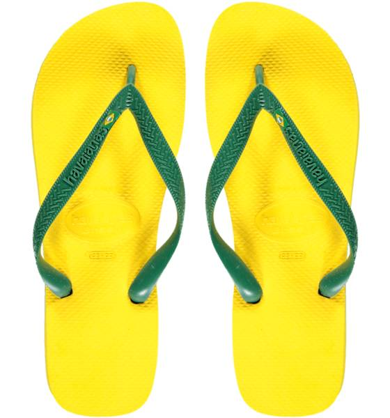 Havaianas Sandaalit Havaianas M Brasil CITRUS YELLOW (Sizes: 39-40)