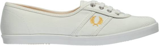 Fred Perry Tennarit Fred Perry W Aubrey Canvas WHITE/YOLK (Sizes: 38)