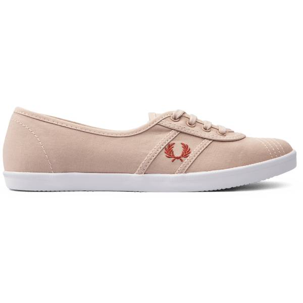 Fred Perry W Aubrey Canvas Tennarit ROST DUST/MINERAL (Sizes: 38)