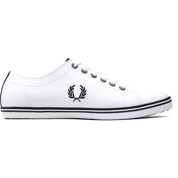 Fred Perry U Kingston Leather Tennarit WHITE (Sizes: 41)