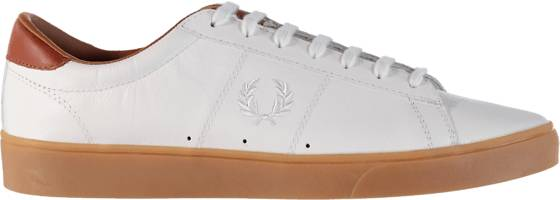 Fred Perry Tennarit Fred Perry M Spencer Tumbled Lth WHITE (Sizes: 43)