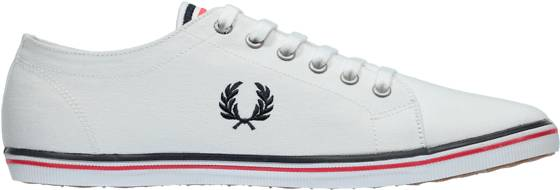 Fred Perry Tennarit Fred Perry U Kingston Twill WHITE/NAVY/BRIGHT (Sizes: 43)