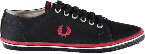 Fred Perry Tennarit Fred Perry U Kingston Twill DK NAVY/RED (Sizes: 43)