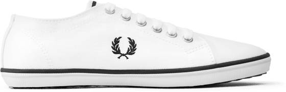 Fred Perry U Kingston Twill Tennarit WHITE/NAVY/NATURAL (Sizes: 42)
