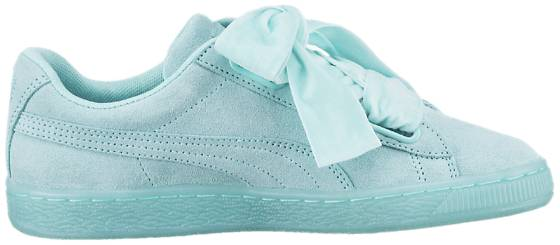 Puma Tennarit Puma W Basket Heart Reset ARUBA BLUE (Sizes: UK 5)