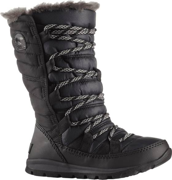 Sorel J Whitney Lace Trekkingkengät BLACK (Sizes: US 2)