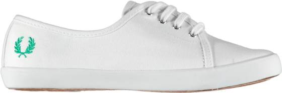 Fred Perry Tennarit Fred Perry W Bell Twill WHITE (Sizes: 40)