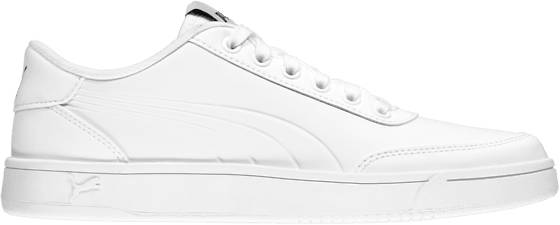 Puma Tennarit Puma U Court Breaker L Mono WHITE (Sizes: UK 10.5)