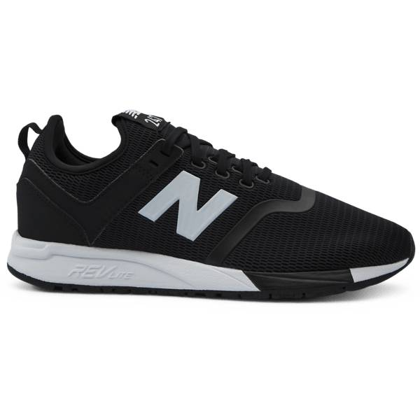 New Balance U 247 Low Black Tennarit BLACK (Sizes: US 5.5)
