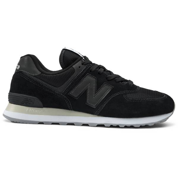 New Balance U 574 Tennarit BLACK (Sizes: US 10)