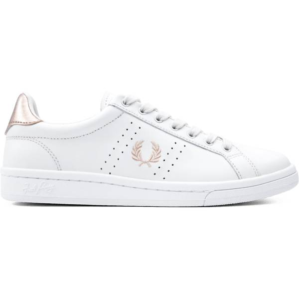 Fred Perry W B721 Leather Tennarit PORCELAIN/ROSE GOL (Sizes: 40)
