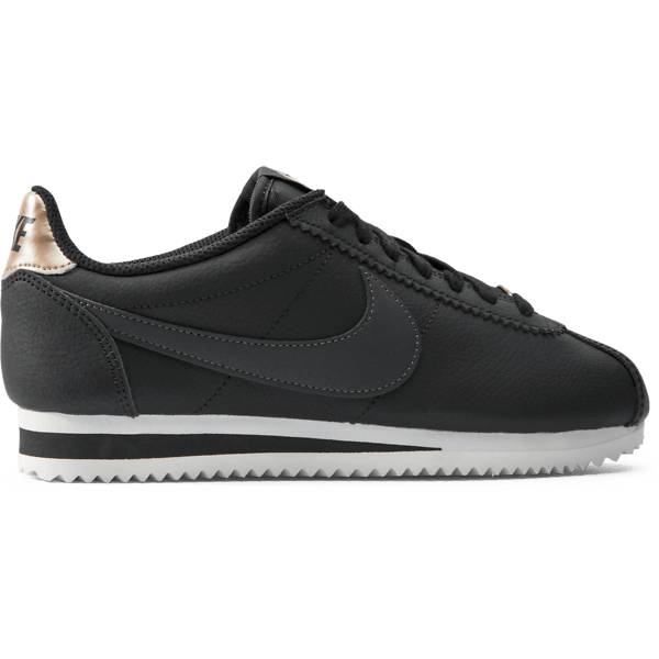 Nike W Classic Cortez Leather Tennarit BLACK/ANTHRACITE (Sizes: US 8)