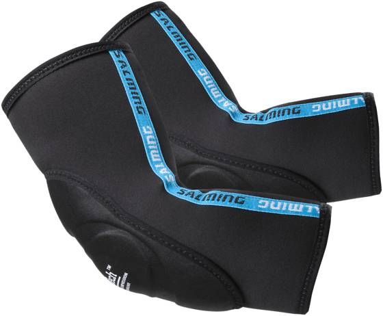 Salming Maalivahti Salming Elbow Pads Protect BLACK (Sizes: XS)