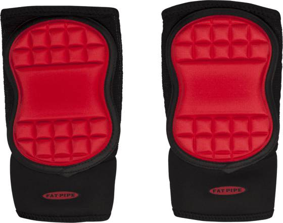 Fatpipe Maalivahti Fatpipe Gk Elbow Pads BLACK/RED (Sizes: XL/XXL)