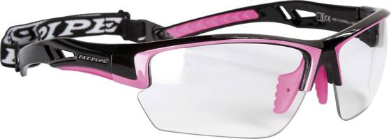 Fatpipe Salibandytarvikkeet Fatpipe Protective Ew Jr BLACK/PINK (Sizes: One size)