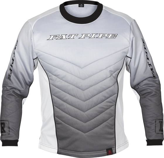 Fatpipe Maalivahti Fatpipe Padded Gk Shirt Jr GREY (Sizes: 110-120)