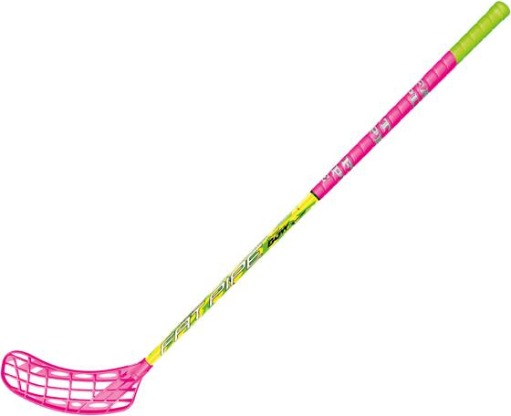 Fatpipe Salibandymailat Fatpipe Fat Bow 27 96cm PINK/LIME (Sizes: Left)