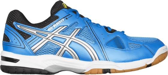 Asics Sisäpelikengät Asics Gel Blocker M ELECTR BLUE/SILVER (Sizes: 11.5)