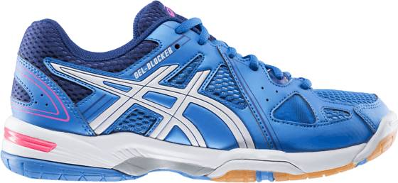 Asics Sisäpelikengät Asics Gel Blocker W REGATTA BLUE/WHITE (Sizes: 7.5)