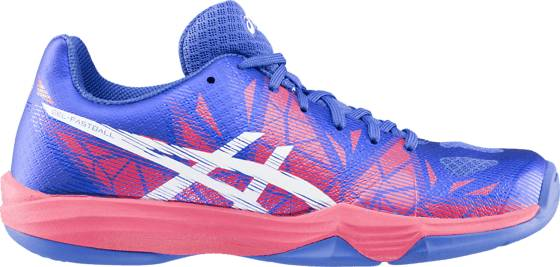 Asics Sisäpelikengät Asics G Fastball 3 W Fin BLUE PUR/ROUGE RED (Sizes: 7.5)