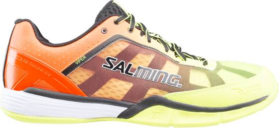 Salming Treenikengät Salming Viper 4 M YELLOW/ORANGE (Sizes: UK 11)