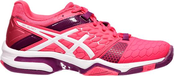 Asics W Gel-blast 7 Treenikengät ROUGE RED/WHITE/PR (Sizes: US 7)