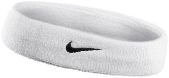 Nike Swoosh Headband 2 Treenitarvikkeet WHITE (Sizes: No size)