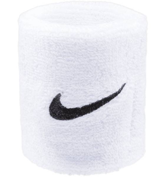Nike Swoosh Wristband 2 Treenitarvikkeet WHITE/BLACK (Sizes: No Size)