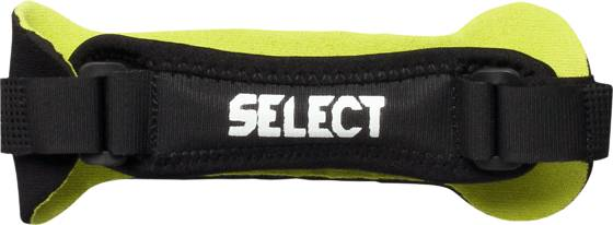 Select Knee Strap Treenitarvikkeet BLACK/LIME (Sizes: One size)