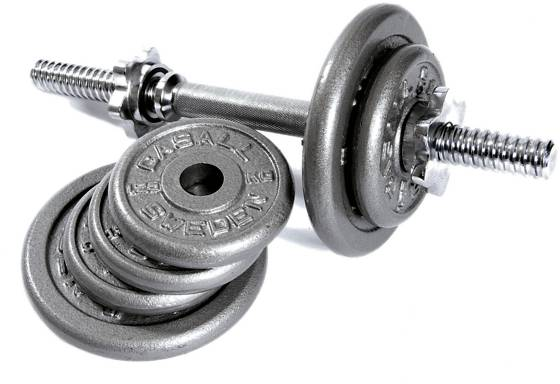 Casall Treenivarusteet Casall Dumbbell Set 9kg SILVER (Sizes: No Size)