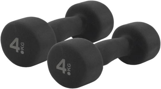 Casall Treenivarusteet Casall Dumbbell Neo 2x4 BLACK (Sizes: No Size)