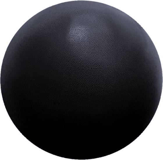 Casall Treenivarusteet Casall Gym Ball 75cm BLACK (Sizes: No Size)