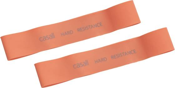 Casall Treenivarusteet Casall Rubberband 2pk Hrd ORANGE (Sizes: No Size)