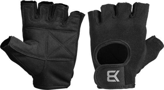 Better Bodies Basic Gym Gloves Treenitarvikkeet BLACK (Sizes: XS)
