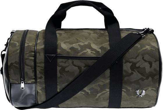 Fred Perry Laukut Fred Perry Jacquard Camo Bag MILITARY GREEN (Sizes: One size)