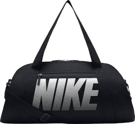Nike W Nk Gym Club Treenitarvikkeet BLACK/WHITE (Sizes: M)