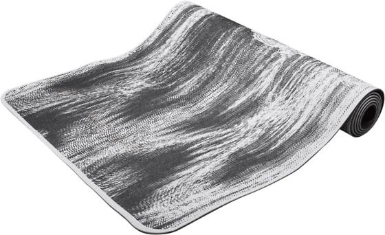 Casall Treenivarusteet Casall Yogamat Cushion 5 Mm BLACK/WHITE (Sizes: No Size)