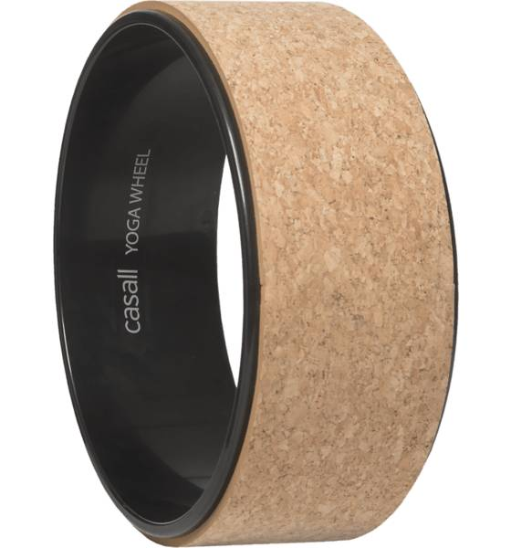 Casall Treenivarusteet Casall Yoga Wheel Corc NATURAL CORK/BLACK (Sizes: One size)