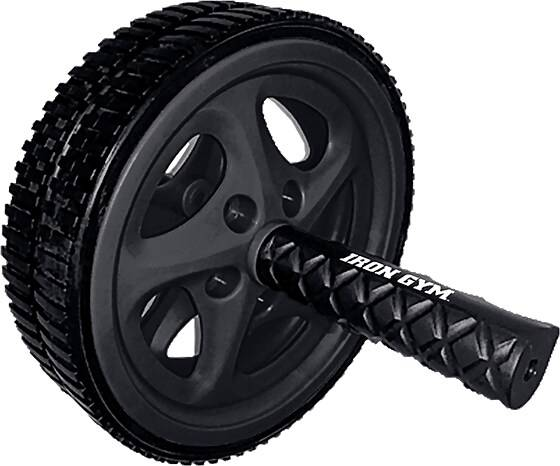 Iron Gym Treenivarusteet Iron Gym Dual Ab Wheel BLACK (Sizes: One size)