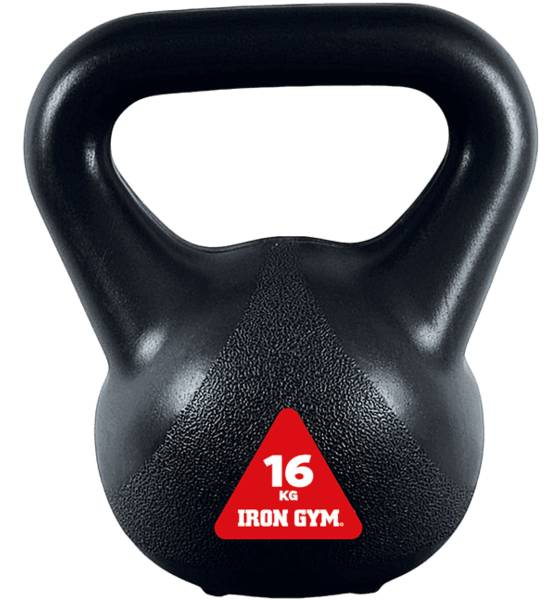 Iron Gym Treenivarusteet Iron Gym Kettlebell 16kg BLACK (Sizes: One size)
