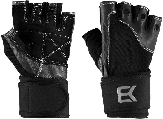 Better Bodies Pro Wrist Wrap Gloves Treenitarvikkeet BLACK (Sizes: L)