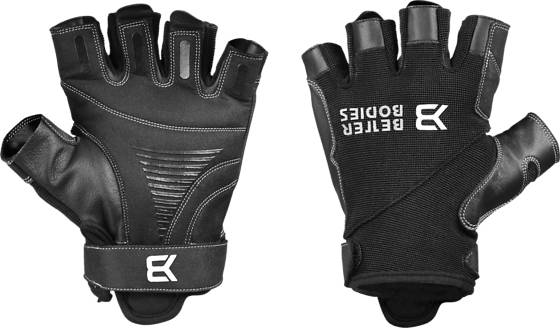 Better Bodies Pro Gym Gloves Treenitarvikkeet BLACK/BLACK (Sizes: XL)