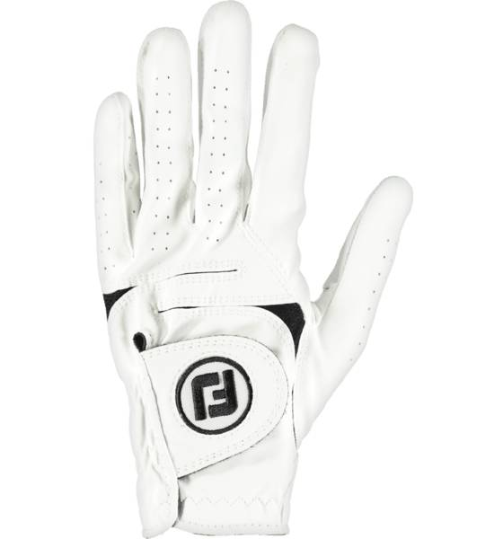 Footjoy Weathersof Mlh Golfhanskat WHITE (Sizes: M/L)