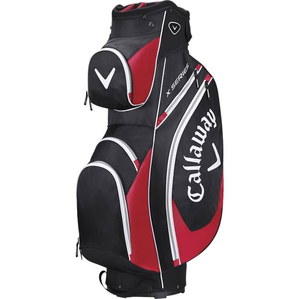 Callaway X-series Cart Bag Golfkärryt & bägit BLACK/RED/WHITE (Sizes: No Size)